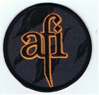 New, Genuine AFI - Orange PATCH Iron or Sew On