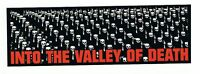 New, INTO THE VALLEY OF DEATH VINYL STICKER Decal