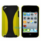 HARD COVER CASE SKIN DUAL COLOR For iPod TOUCH 4 4G GEN