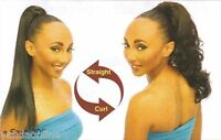 """20"""" Synthetic Hair Drawstring Ponytail Hairpiece with Clip - Sara"""