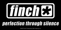 New, FINCH Perfection Through Silence STICKER Decal