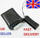 New Portable Solar Power Backup Battery Charger for iPhone 4 5 3G 3GS iPod Black