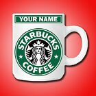 Personalised Starbucks Coffee Mug printed with Any Name or Message