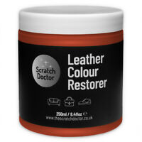 TAN Leather Dye Colour Restorer for Faded and Worn Leather Sofa etc.