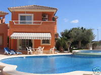 Holiday Villa for Rent Murcia Nr Golf Spain November 7th to 10th  2015 sleeps 6