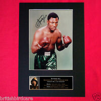 JOE FRAZIER MEMORIAL EDITION Signed Autograph Mounted Photo Repro A4 Print 57