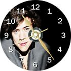 Harry Styles One Direction Novelty Cd Clock Can be personalised