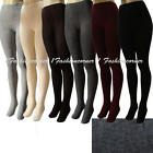 L39 Winter,Thick,Knit,Sweater Footed Tights S,M.Black,Gray,Brown,Cream,Burgundy