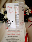 Sample Wedding Invitation Diamante Butterfly Floral Day Evening Invite Gatefold