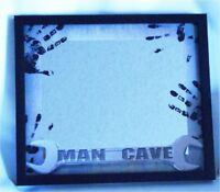 Mirror with Man Cave Theme Sign for Bar Den Gameroom Pub Dorm Room Man Cave
