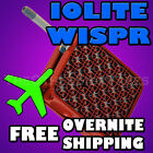 NEW - Iolite WISPR Vaporizer - Grape RED - FREE OVERNIGHT or WORLDWIDE SHIPPING