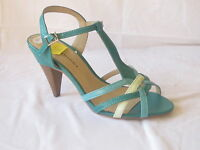 "LADIES BARRICCI SANDALS ""GREEN MULTI""  ""L3357"""
