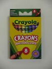 Crayola 8 Pack Crayons Assorted Colour Bright Strong Colours Kids Playtime Fun