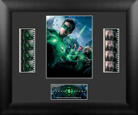 "DC Comics Green Lantern Collectible Wood Framed Movie Film Cell Plaque, 13""x11"""