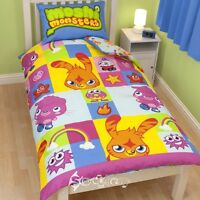 Moshi Monsters Official Single Duvet Cover Bed Set