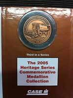 NOS CASE IH 1460 AXIAL-FLOW COMBINE COMMEMORATIVE MEDALLION 2005 3RD SERIES