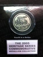NOS CASE IH 7140 MAGNUM TRACTOR COMMEMORATIVE MEDALLION 2005 4TH SERIES