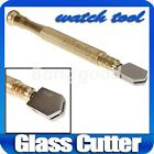 Oil Filled Lubricated wheel Tipped Glass Cutter Tile Cutting Craft Tool Steel