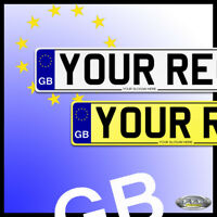 QUALITY CAR GB NUMBER PLATES, SHOW PLATES