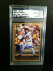 1999 TOPPS MIKE MUSSINA PSA DNA SIGNED BASEBALL CARD NY YANKEES ORIOLES AUTO