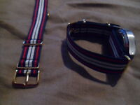 RCT G1098 watch strap, Gilt fittings, Army, Royal Corps of Transport, Driver RLC