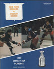 1970 RANGERS vs BRUINS NHL Hockey STANLEY CUP PLAYOFF Program