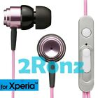 TDK CLEF-Smart InEar Earphone Headphones TH-ECXS250PK Remote XPERIA ONLY Pink