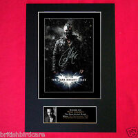 THE DARK KNIGHT RISES Tom Hardy BATMAN Signed Autograph Mounted A4 Print 105
