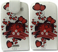 Lover Heart PU Leather Flip Pouch Case Cover for Blackberry BB 9900 9930 Bold
