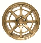 ARK Design 18 inch R8 Alloy Wheels Mitsubishi EVO 5 6 7 8 CP9A CT9A Gold