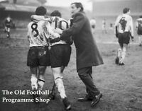 DERBY COUNTY V CARDIFF CITY ~ 1 FEBRUARY 1969 ~ 6X4 ACTION PHOTO (8)