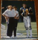 Don Air Coryell Dan Fouts Signed Chargers Football 16x20 Photo PSA/DNA COA Auto