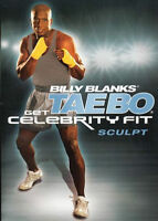 TAE BO CELEBRITY FIT SCULPT DVD NEW BILLY BLANKS TAEBO EXERCISE WORKOUT FITNESS