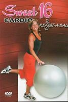 RESIST-A-BALL SWEET 16 STABILITY BALL DVD RESISTABALL NEW SEALED WORKOUT BALANCE