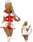Pin Up Nurse Sexy Womens Fancy Dress Costume Adult Full Hens Party Maid Fantasy