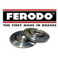 Ferodo DDF1518 354mm Full Rear Brake Discs For MK3 Range Rover - New Old Stock