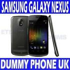BRAND NEW SAMSUNG GALAXY NEXUS I9250 BLACK DUMMY DISPLAY PHONE - UK SELLER