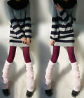 Women's High Quailty Sexy Winter Knit Crochet Fashion Leg Warmers Legging socks