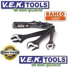 BAHCO TOOLS 3PCE ADJUSTABLE SHIFTER SPANNER WRENCH KIT SET-LIFETIME WARRANTY SP