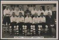 1935 PATTREIOUEX #55 - STOCKPORT COUTY FOOTBALL TEAM - SPORTING EVENTS & STARS