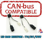 2 x LED WARNING CANCELLER 501 T10 W5W WEDGE NO CANBUS OBC ERROR LOAD RESISTOR VW