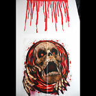 Bloody Horror-SKELETON SKULL TOILET COVER-Halloween Pirate Bathroom Decorations