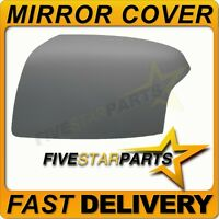 Passenger side LHS primed wing mirror cover for Ford Focus mk2 2005-08 cap