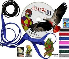 Aviator Bird Harness and Leash - The Easiest and Safest Harness for Birds