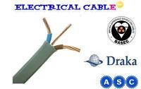 2.5mm Twin and Earth Electrical Cable 25m for Ring Main and Sockets BASEC VAT