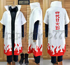 Naruto Shippuuden Yondaime Hokage Namikaze Minato Cosplay Party Costume Tailored