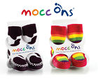 Mocc Ons Baby/Toddler Slipper Socks - 8 Funky Designs - 4 sizes available