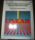Texas Instruments Linear & Interface Circuits Master Selection Guide 1980