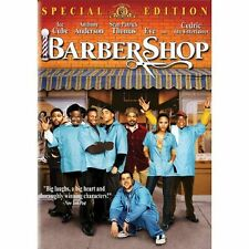 Movie on DVD: BARBER SHOP, Ice Cube,Cedric,Eve, special edition,interactive game