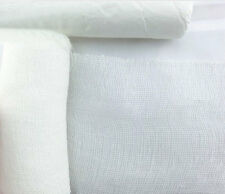 """GAUZE CHEESE CLOTH CHEESECLOTH BUTTER MUSLIN WHITE HALLOWEEN COSTUMES 36""""WIDE"""
